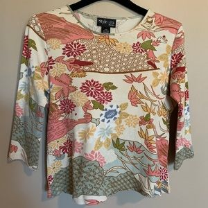 Style & Co - women's long sleeves T-shirt (Size S)